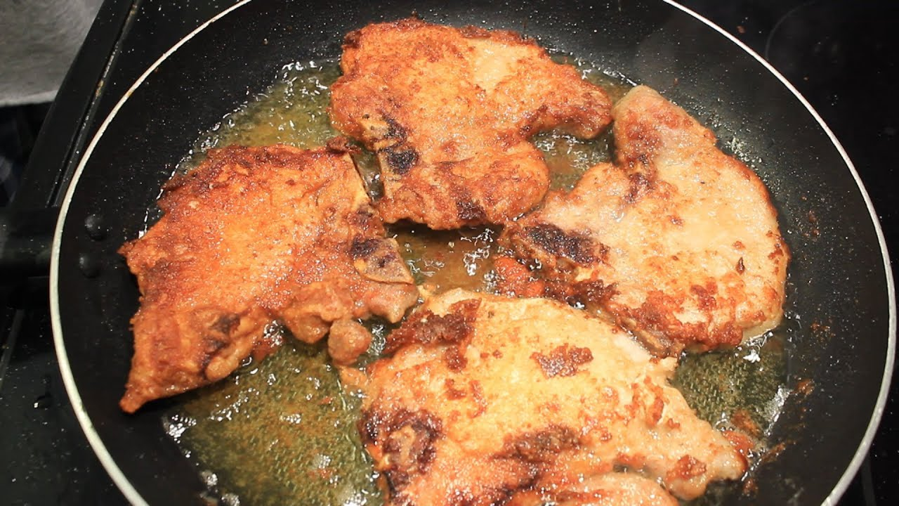 Chicken Fried Pork Chops Country Style Easy