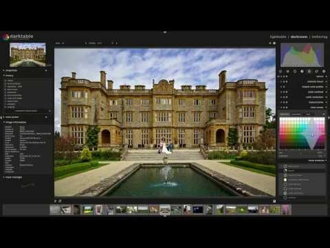 Darktable RAW edit: architectural perspective