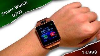 SMARTWATCH DZ09. Умные часы c Aliexpress за 14,99$. Распаковка, обзор, тест.