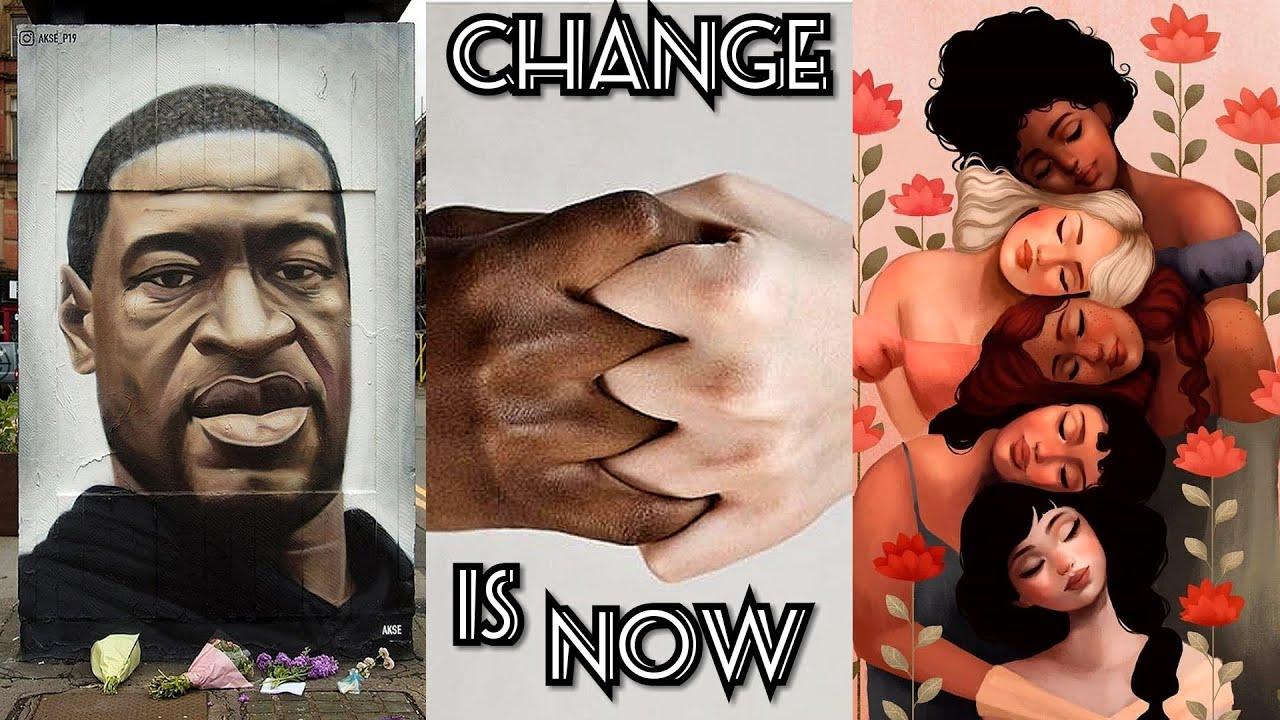 TikTokers Speaking Up against Racism in the USA (#blacklivesmatter) ✊🏽✊🏾✊🏿✊✊🏻✊🏼