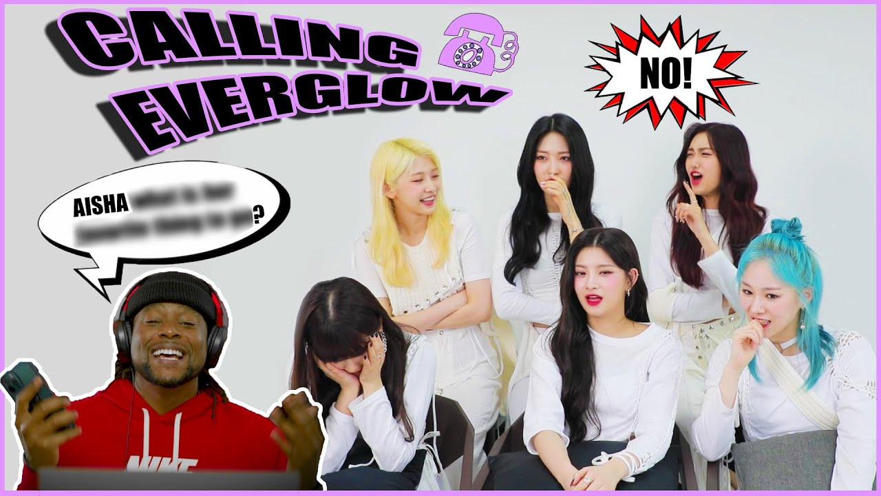 Calling EVERGLOW to Ask Them to Play a GAME CHALLENGE!!!  (they did it)