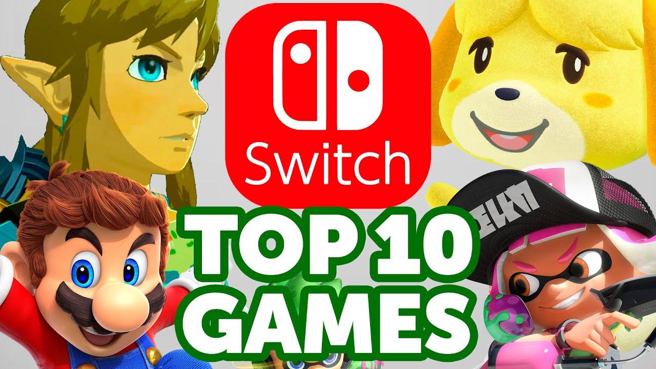 Top 10 Nintendo Switch Games (Sales)