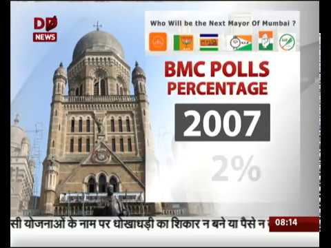 BMC poll witness record 55% turnout