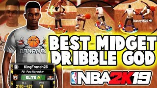 BEST MIDGET DRIBBLE GOD CAN'T BE GUARDED AT STAGE NBA 2K19 💰