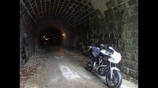 YAMAHA MT-01 OS to the old Amagi tunnel at IZU