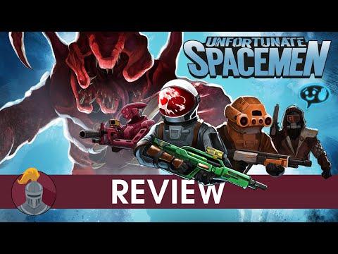 Unfortunate Spacemen Review
