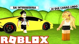 GOLD DIGGER of the LUXURY CAR in ROBLOX
