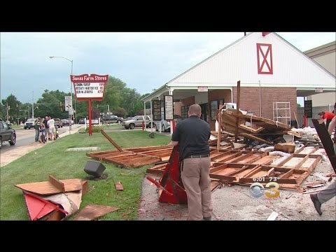 Havertown Hit Hard By Monday's Storms