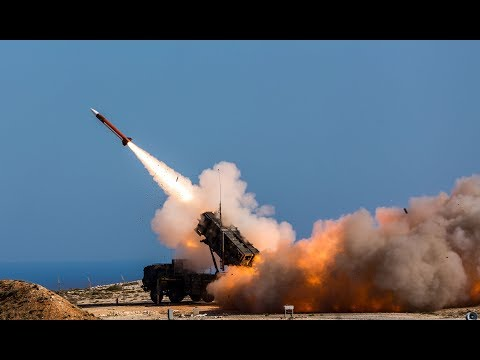MIM-104 Patriot SAM Missile LIVE-FIRE, Crete Greece