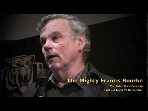 The Mighty Francis Bourke 1980 A Night To Remember part 4 22nd june 2012