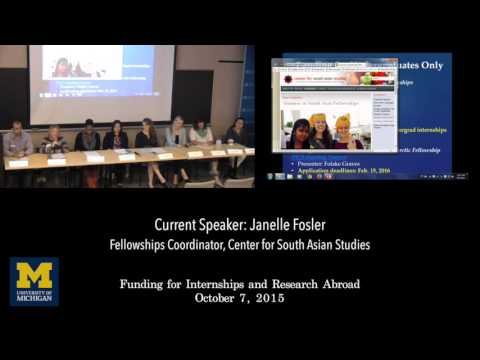 ICP 2015 - Funding for Internships & Research Abroad