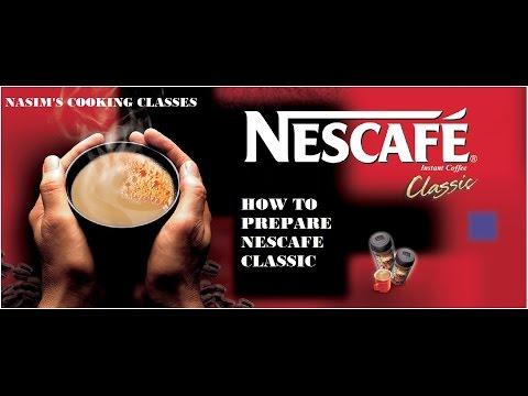 NESCAFE CLASSIC - NASIM'S COOKING CLASSES