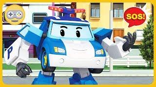 Робокар Поли на улицах Брумса - Новые миссии машинок спасателей * Игра Robocar Poli на Kids PlayBox