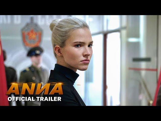 Anna (2019 Movie) Official Trailer - Sasha Luss, Luke Evans, Cillian Murphy, Helen Mirren