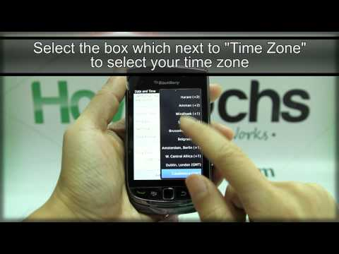 How To Set The Date And Time On BlackBerry Torch 9800