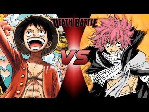 Monkey D Luffy Vs Natsu Dragneel Death Battle Youtube