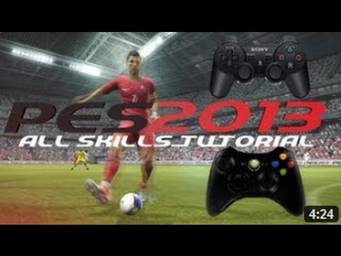 PES 2013 Tricks & Skills Tutorial - All Feints - PS3 Controls