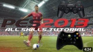 PES 2013 Tricks & Skills Tutorial - All Feints - PS3 Controls