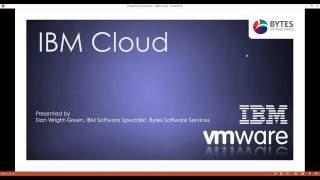 IBM SoftLayer Webinar
