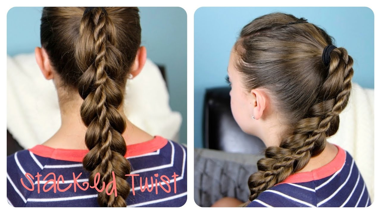 Hair Styles With Braids: Cute Girls Hairstyles - YouTube