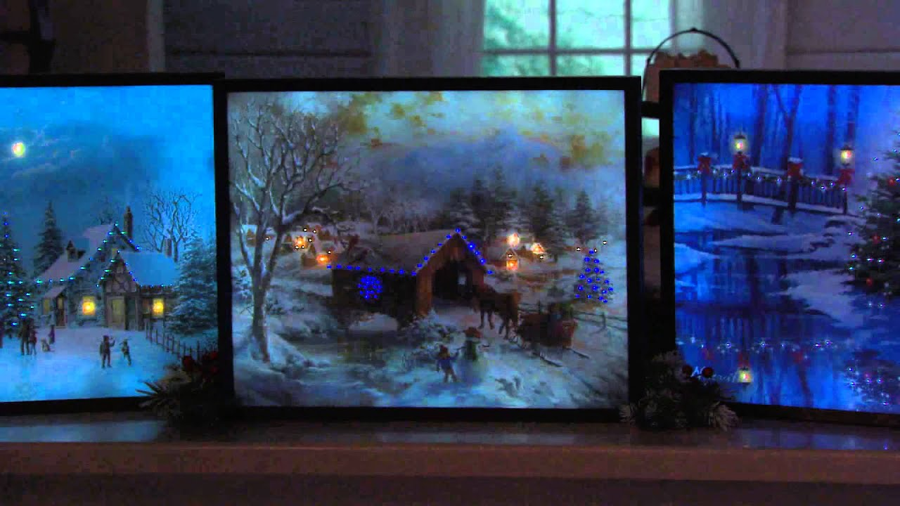Illuminart 20 quot  x 16 quot  LED Backlit Canvas Art with Dan Hughes - YouTube