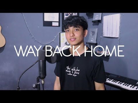 숀 (SHAUN) - Way Back Home (ft. Conor Maynard) Cover By Reza Darmawangsa