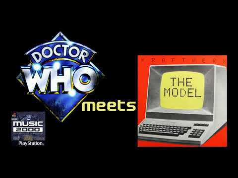 Doctor Who Meets The Model | Music 2000 Mashup Doctor Who Theme and Kraftwerk's The Model