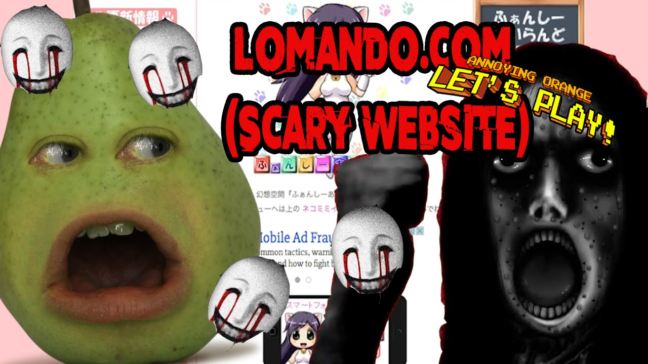 Pear Forced to Play  Lomandocom SCARY WEBSITE  YouTube