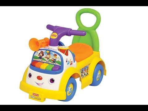 Review: Fisher-Price LP Music Parade Ride-On