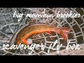 Big Mountain Brookies   Scavenger Fly Box
