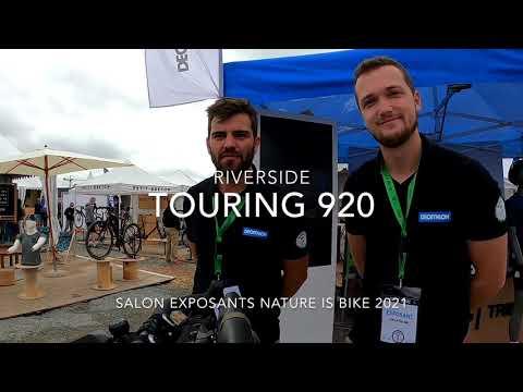 Présentation du Riverside Touring 920 et de son bikepacking