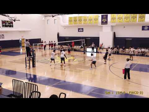2019-10-10 -- SPC volleyball -- St. Mark's vs Fort Worth Country Day