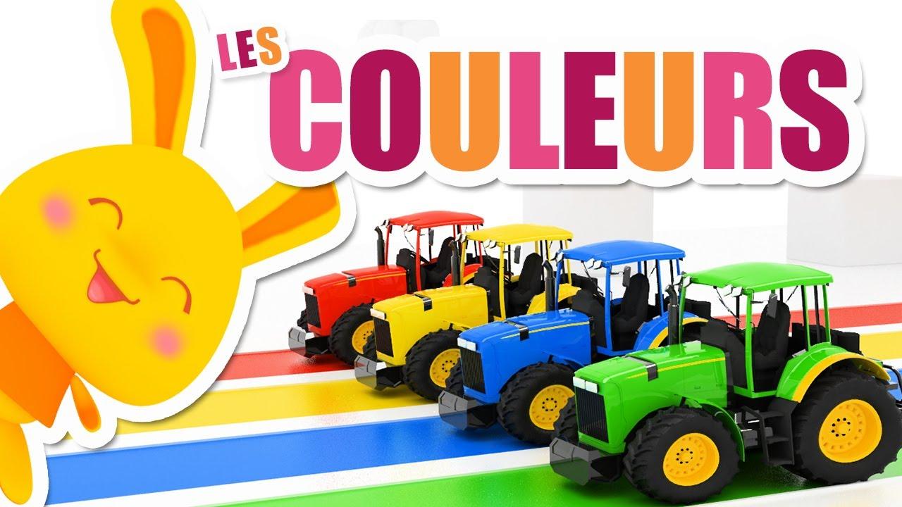 toutes les couleurs des tracteurs titounis