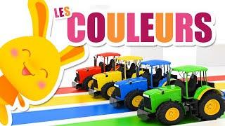 Toutes les COULEURS des tracteurs - Titounis
