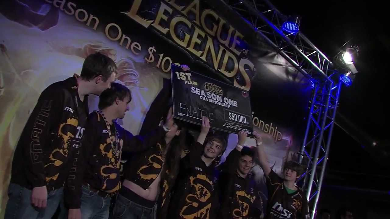 League Of Legends Season One Championship Finals Fnaticmsi Vs Aaa