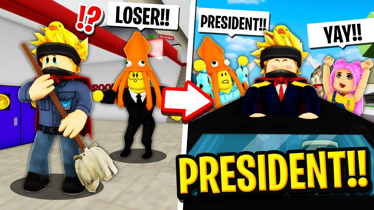 I Went from JANITOR to PRESIDENT in Roblox BROOKHAVEN RP!!