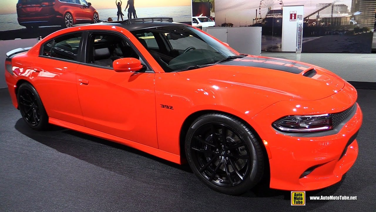 2017 Dodge Charger 392 Daytona Exterior And Interior