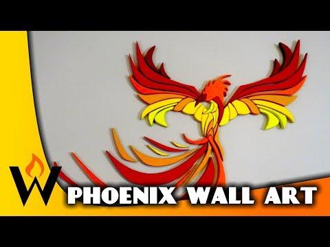 wood-phoenix-with-pattern---scroll-saw,-cnc,-intarsia