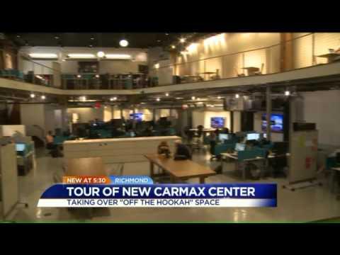 Watch Carmax Opens Downtown Richmond Office