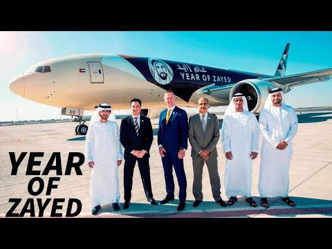 ETIHAD AIRWAYS Set to CELEBRATE The YEAR of ZAYED