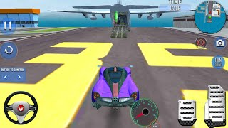Multi Trailer Car Transport Sim - Cargo Plane Car Transporter Android Gameplay #1