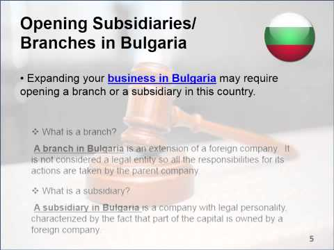 Legal Services in Bulgaria