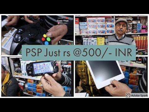 Psp 1,2,3,4 XBox Gaming Market ,delhi | Consols At Low Price | Lajpat Rai Market