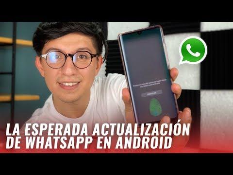 Cómo Bloquear Tus Chats De WhatsApp Con Huella: SuperApps