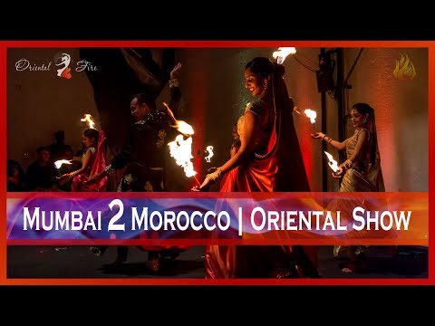 Belly Dancing & Bollywood Fusion Show | Mumbai to Morocco | Oriental Fire