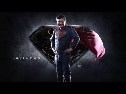 結果をコミット!『バットマンvsスーパーマン ジャスティスの誕生』ライザップとのコラボ新CMが17日よりOA決定!