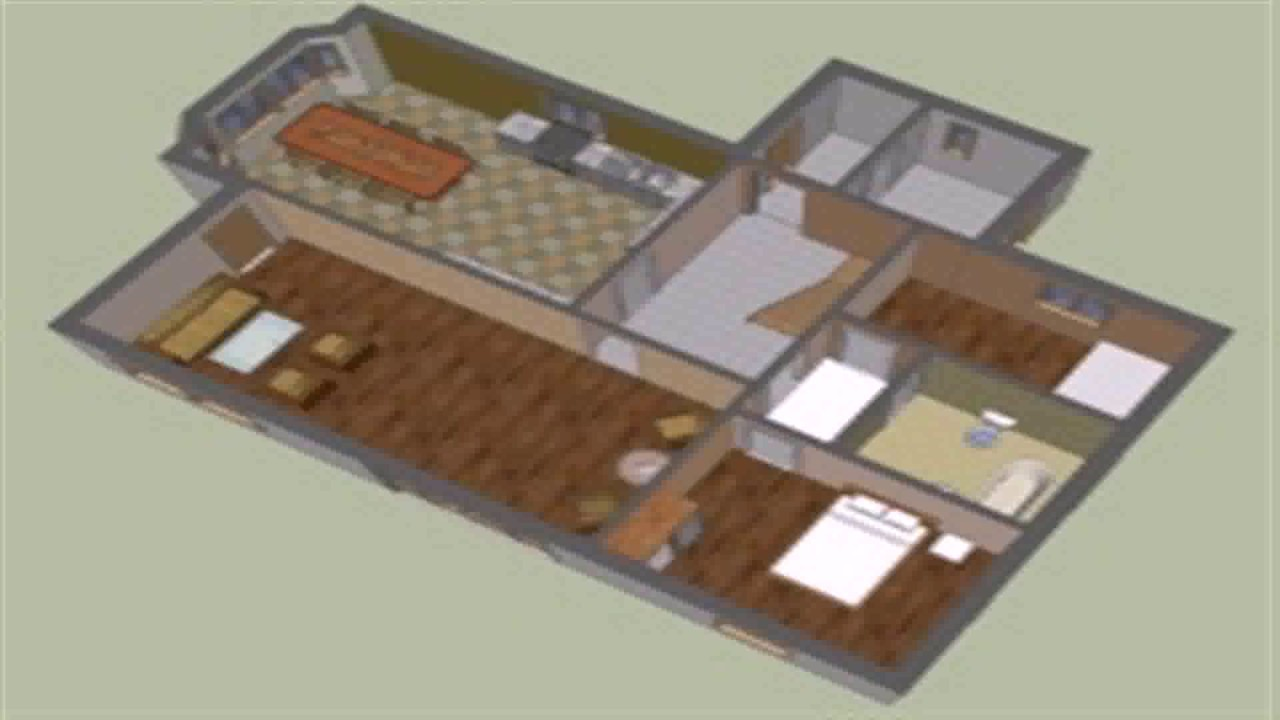 Google sketchup floor plan symbols youtube Sketchup floorplan