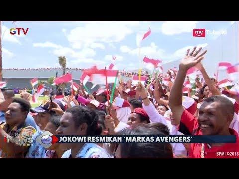 Jokowi Resmikan 'Markas Avengers' Di Merauke, Masyarakat Sambut Antusias - BIM 16/11