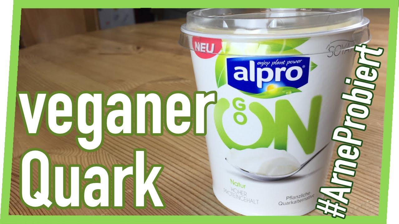 alpro quark veganer quark arneprobiert youtube. Black Bedroom Furniture Sets. Home Design Ideas