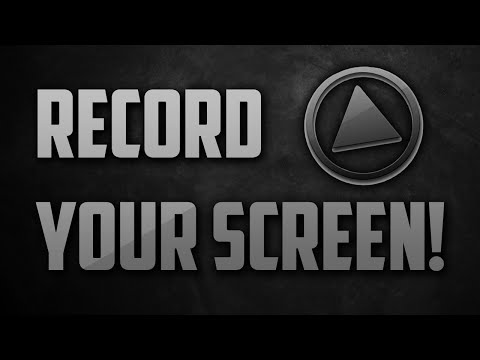 How To Record Your Computer Screen For Free 2015/2016!